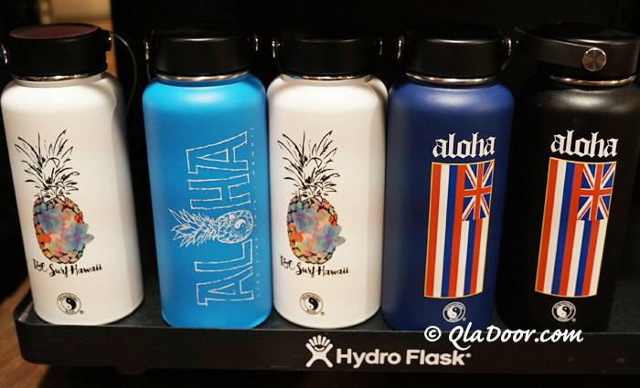 ハイドロフラスクのハワイ州旗入りの限定