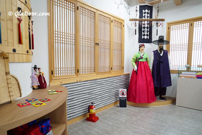 釜山で韓服無料体験できるBEXCO