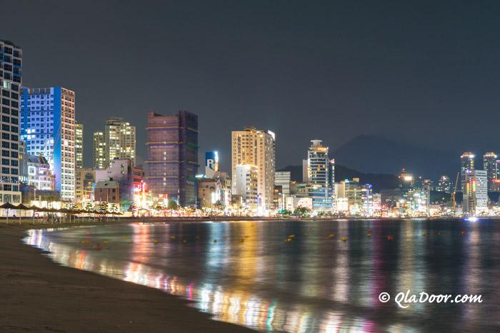 釜山若者に人気の広安里ビーチ
