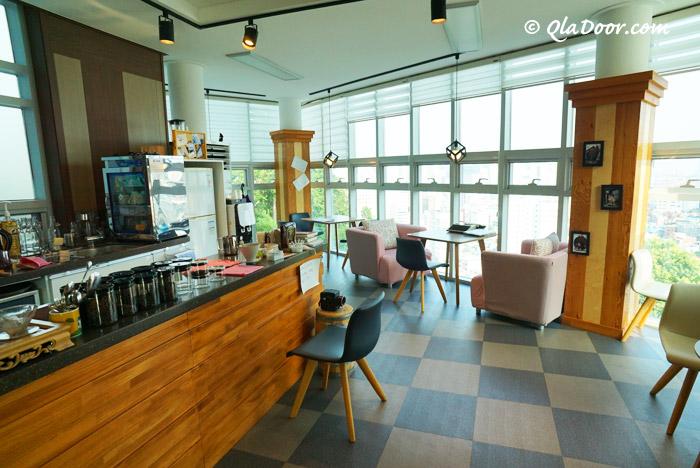 釜山・虎川村のカフェ