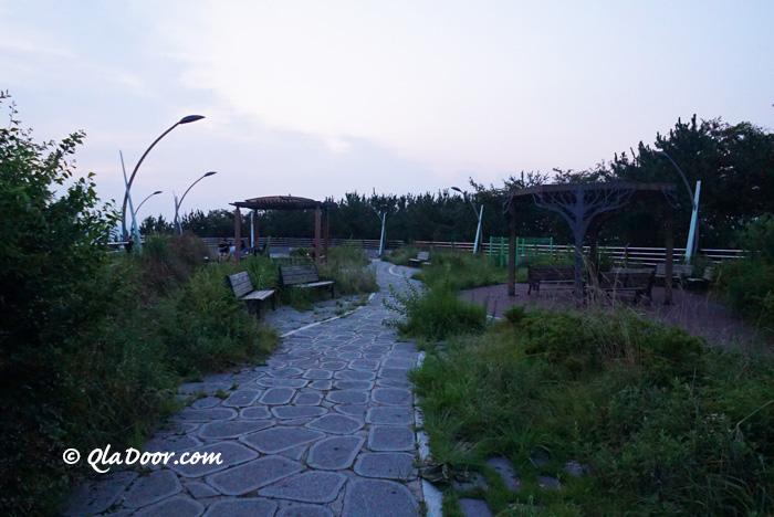 釜山夜景スポット・荒嶺山展望台