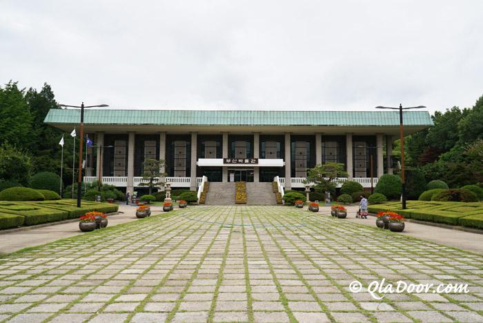 チマチョゴリ体験ができる釜山博物館