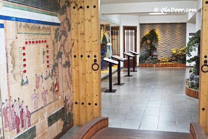 釜山博物館の韓国伝統体験館