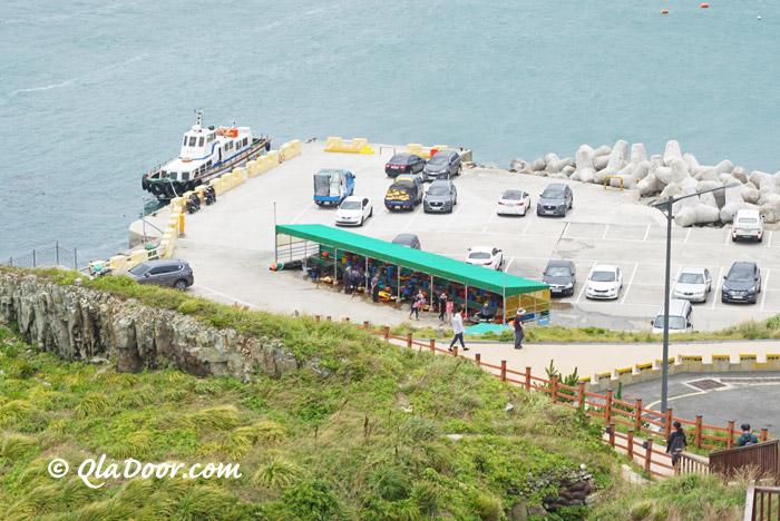 韓国釜山・五六島の海女さんの村
