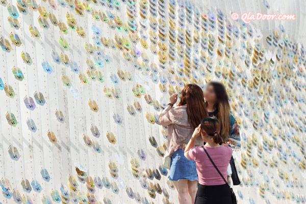 釜山松島女子旅中の観光客