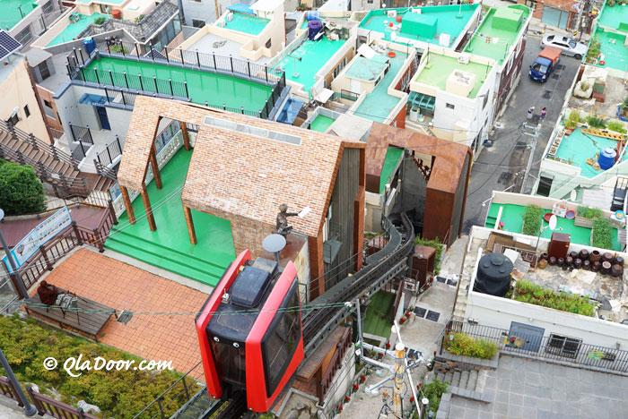 釜山若者・女子旅のインスタ映えにおすすめの草梁イバグギル
