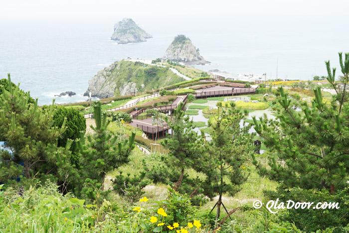 釜山観光のおすすめ穴場スポット・二妓台都市自然公園