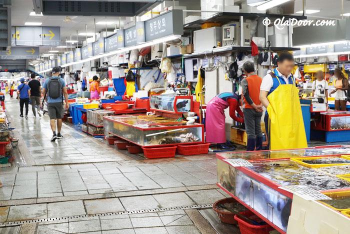 釜山若者・女子旅にはチャガルチ市場もおすすめ