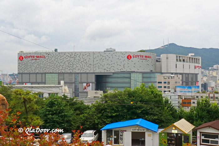 釜山観光穴場スポット・ロッテモール