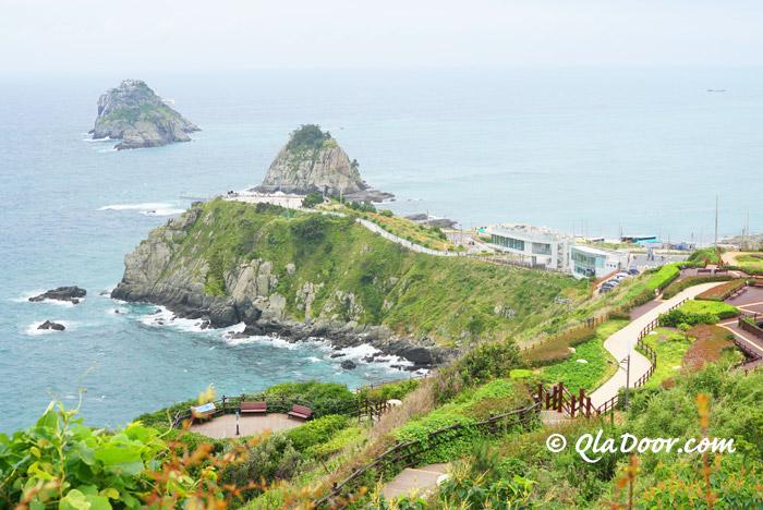 釜山観光のおすすめ自然の穴場スポット五六島