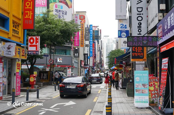 釜山ショッピングと若者の街西面(ソミョン)