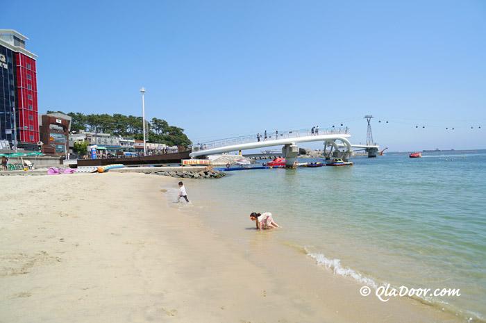 釜山観光地・松島海水浴場