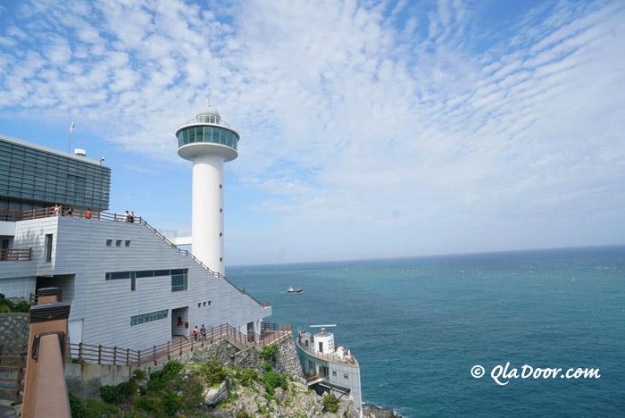 釜山・太宗台(テジョンデ)の灯台