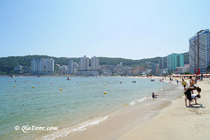 釜山観光のおすすめスポット松島海水浴場