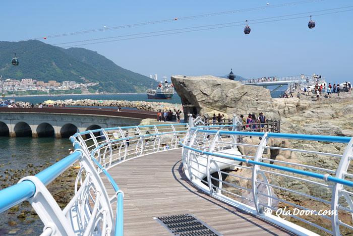 釜山おすすめ観光スポットの松島クルム散策路