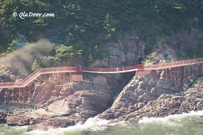釜山の松島海岸散策路