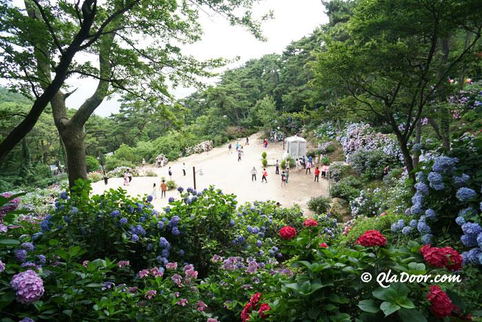 釜山観光のスポット・太宗台のお寺