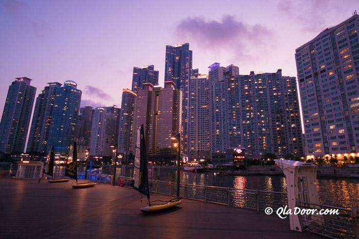 夜景がきれいな釜山観光地・ザ・ベイ101
