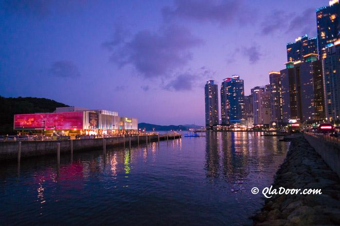 釜山夜景がきれいな場所・ザ・ベイ101
