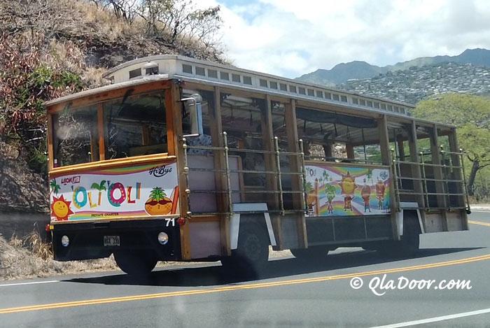 ハワイのOlliOliトロリー