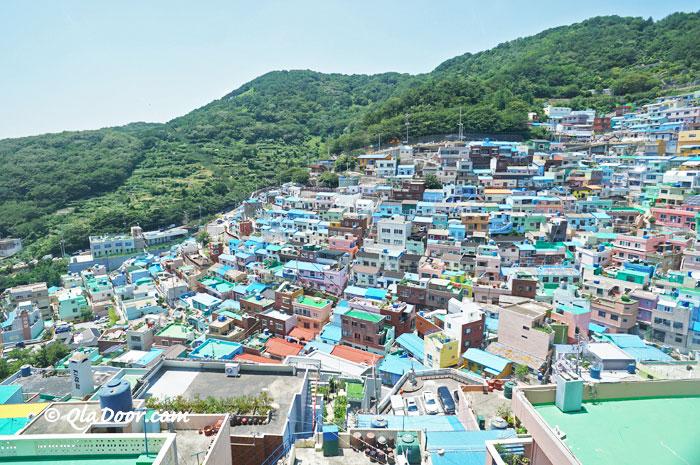 釜山女子旅・若者におすすめの甘川文化村