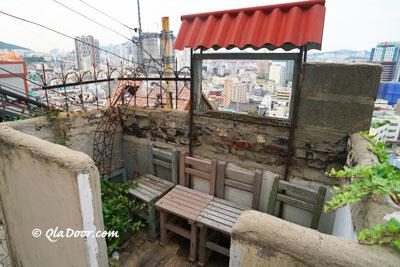 釜山草梁イバグの168階段