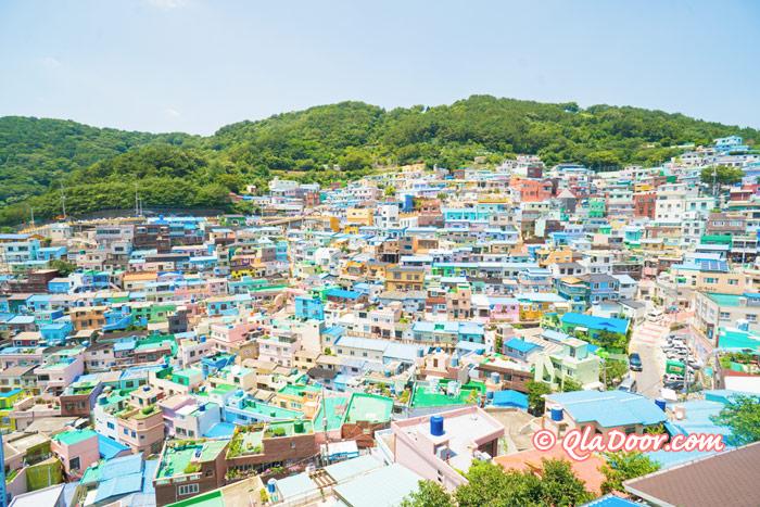 釜山観光若者にもおすすめの甘川文化村