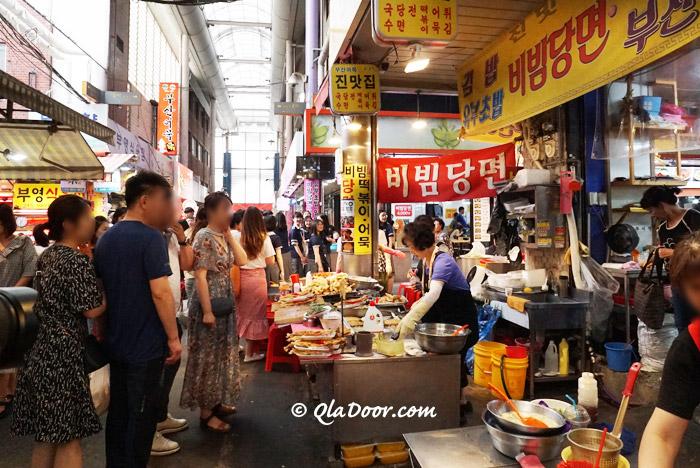 釜山の富平カントン市場