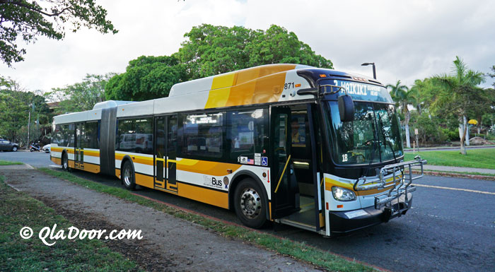 ハワイ・kccファーマーズマーケットのバスで行き方