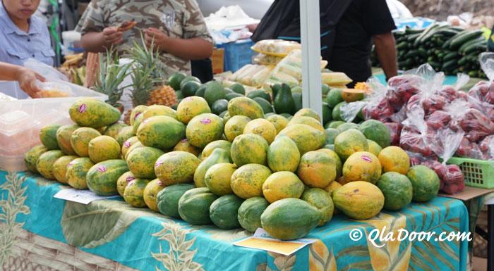 kccマーケットのフルーツ