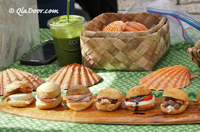 kccファーマーズマーケットのグルテンフリーのハンバーガー