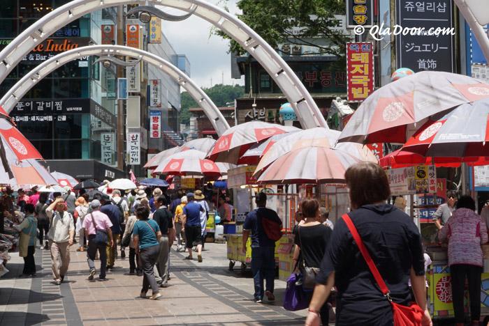 釜山観光スポット・釜山国際映画祭(BIFF広場)