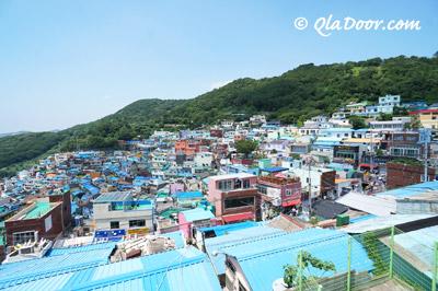 釜山観光スポットランキング・甘川文化村