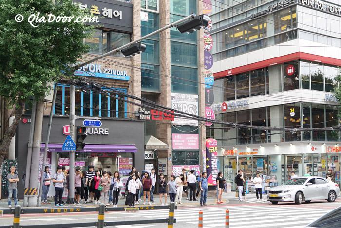 韓国・釜山の街の様子