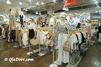 釜山の洋服屋さん