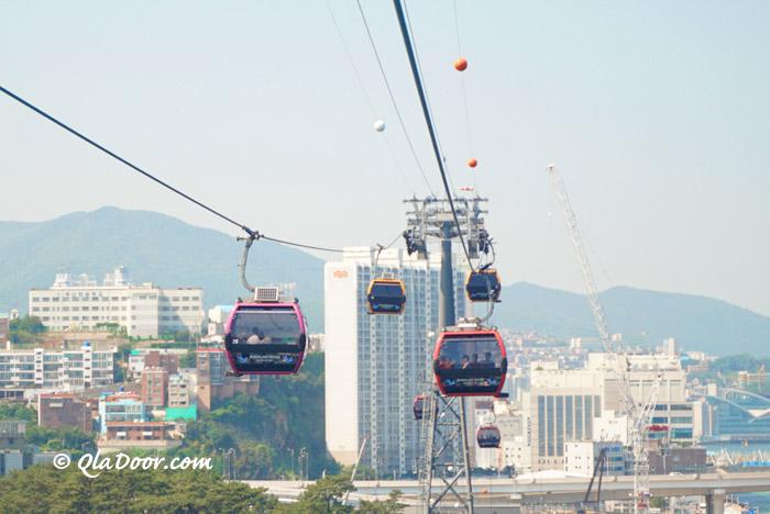 釜山松島ケーブルカーの写真
