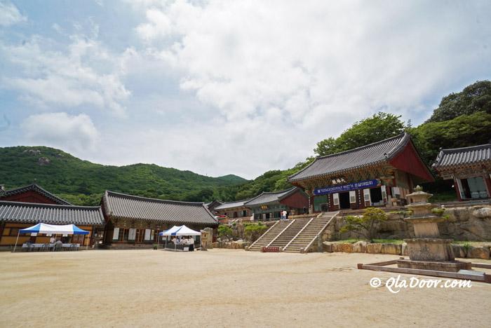 韓国釜山の梵魚寺