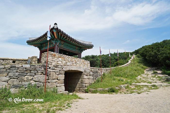 韓国・釜山の登山スポットである金井山城