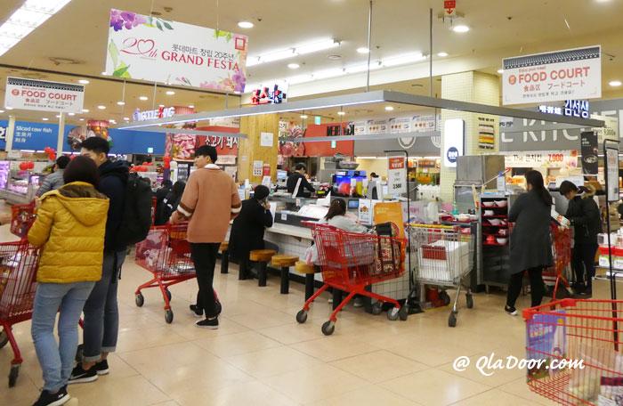 韓国留学の食費
