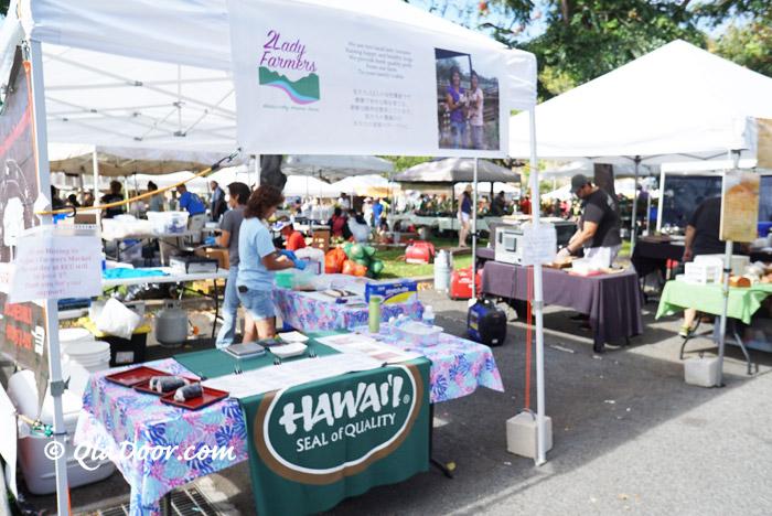 ハワイのKCCファーマーズマーケット