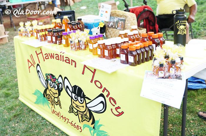 KCCファーマーズマーケットのall hawaiian honey はちみつグルメ