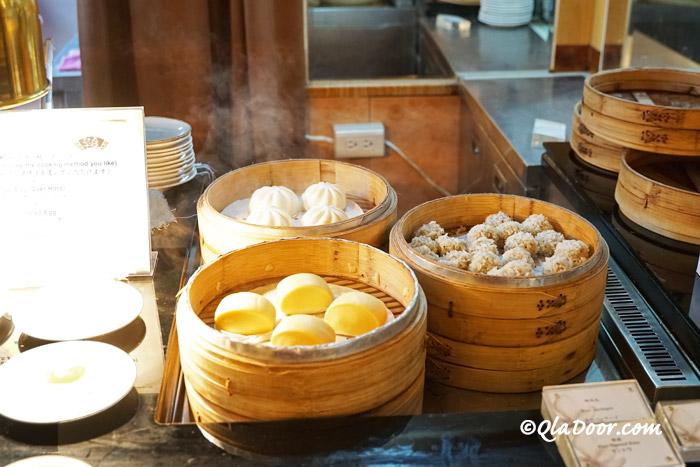 コスモスホテル台北の中華料理朝食