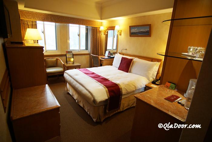 コスモスホテル台北のスタンダード部屋