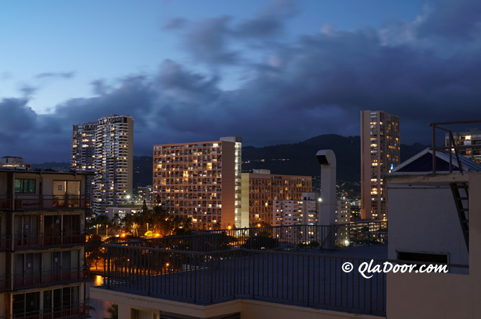 ハワイの治安・日没後は歩きに注意