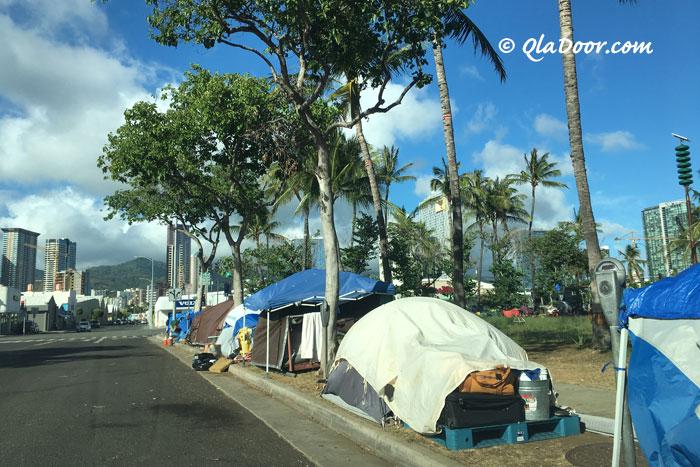 ハワイの危険な地域・ダウンタウン