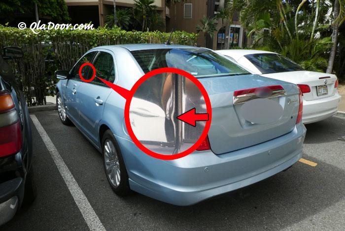 ハワイの治安・レンタカーは車上荒らしに注意