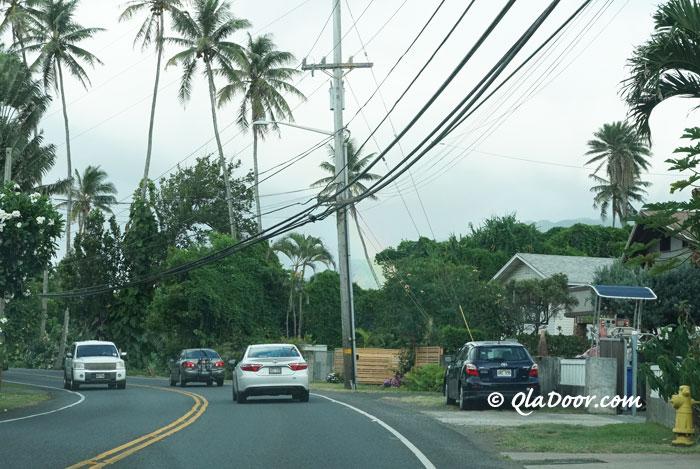 ハワイの治安の悪い場所で有名なノースショア