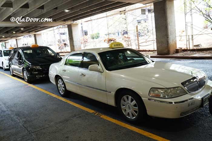 ハワイ・タンタラスの丘のタクシーでのアクセス方法とタクシー料金