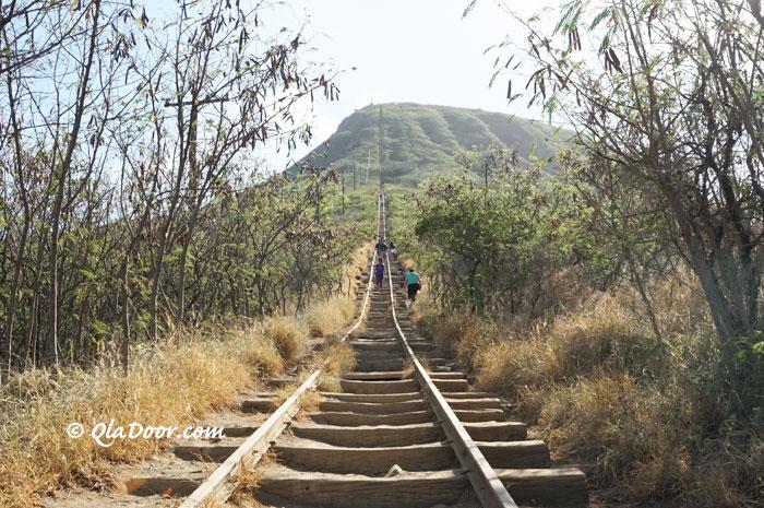 ハワイのココヘッドトレイルのブログ旅行記