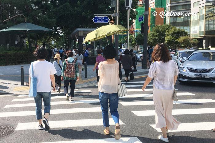 韓国旅行にもっていけばよかったもの・日傘